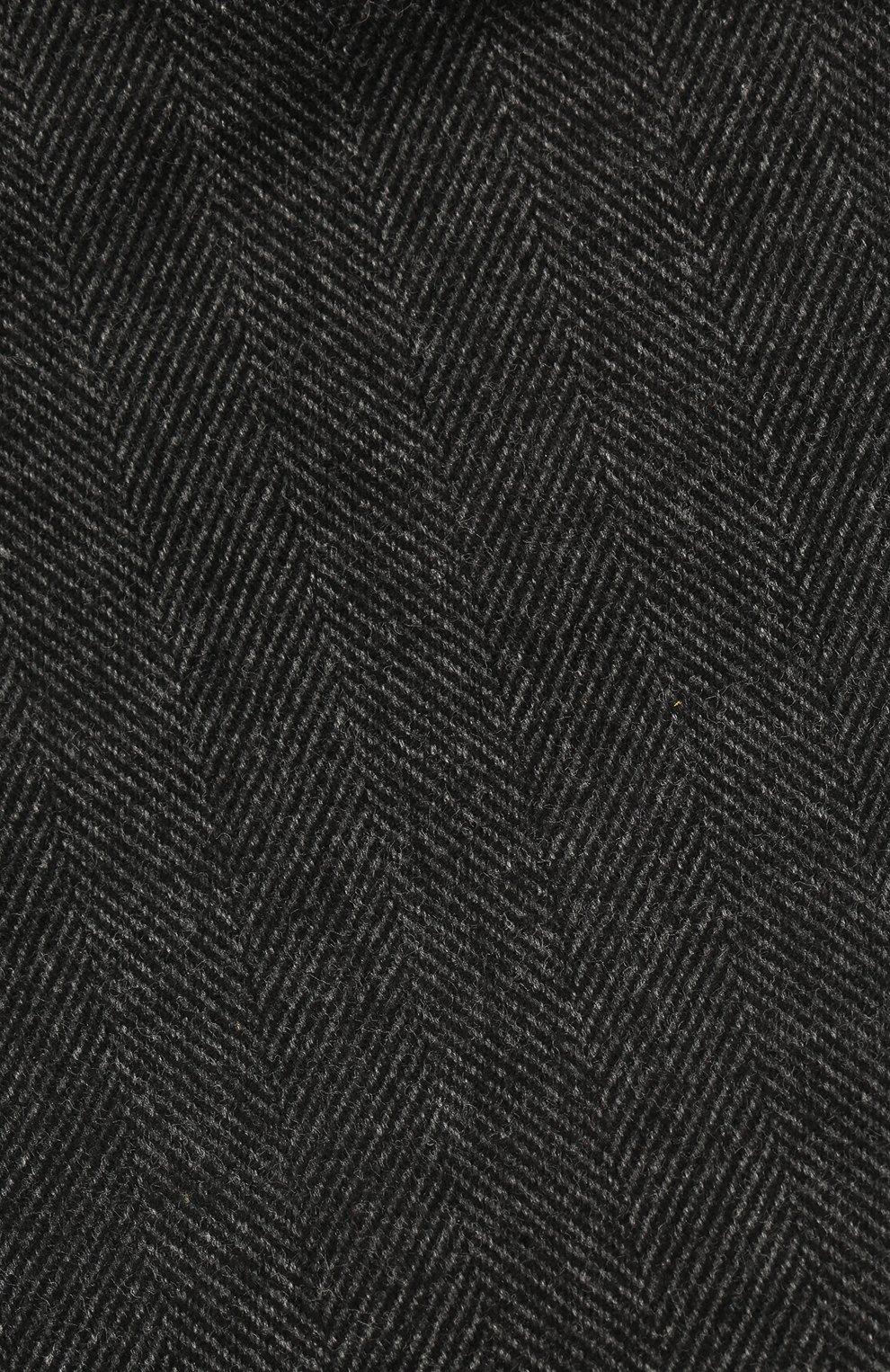 Мужская хлопковое кепи DOLCE & GABBANA серого цвета, арт. GH587A/FC6A0 | Фото 3