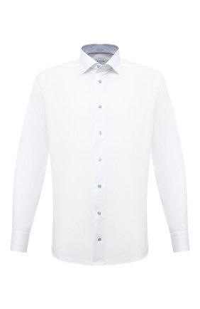 Мужская хлопковая сорочка ETON белого цвета, арт. 1000 01274 | Фото 1