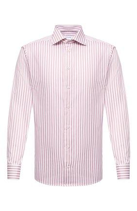 Мужская хлопковая сорочка ETON розового цвета, арт. 1000 01279 | Фото 1