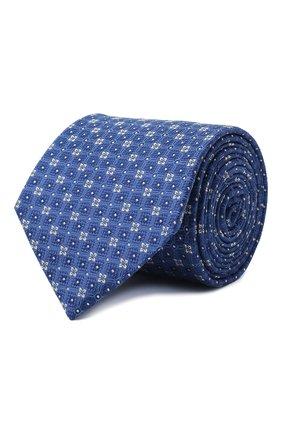 Мужской шелковый галстук ETON темно-синего цвета, арт. A000 32513 | Фото 1