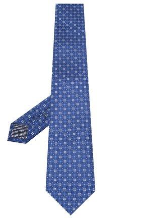 Мужской шелковый галстук ETON темно-синего цвета, арт. A000 32513 | Фото 2