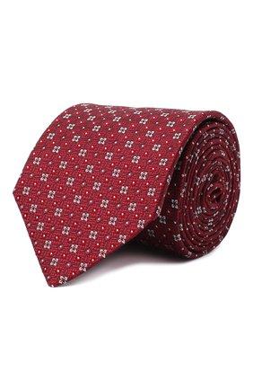 Мужской шелковый галстук ETON бордового цвета, арт. A000 32513 | Фото 1