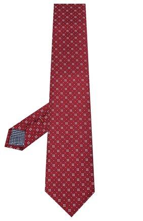 Мужской шелковый галстук ETON бордового цвета, арт. A000 32513 | Фото 2