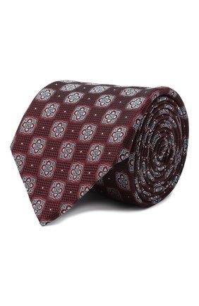 Мужской шелковый галстук ETON коричневого цвета, арт. A000 32542 | Фото 1