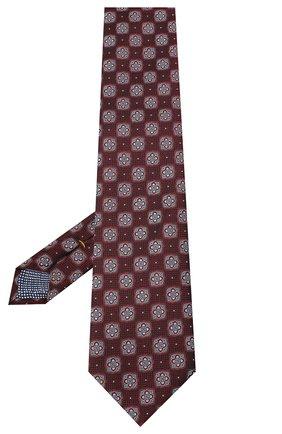 Мужской шелковый галстук ETON коричневого цвета, арт. A000 32542 | Фото 2