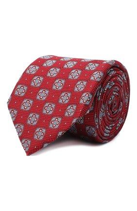 Мужской шелковый галстук ETON красного цвета, арт. A000 32542 | Фото 1