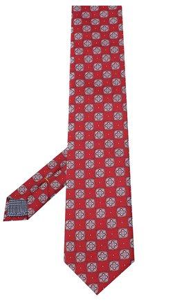 Мужской шелковый галстук ETON красного цвета, арт. A000 32542 | Фото 2