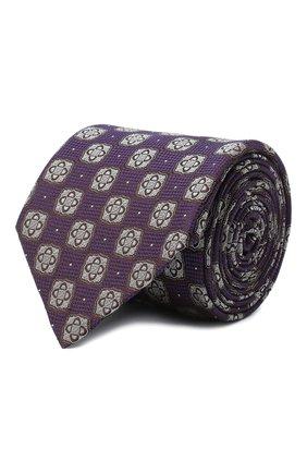Мужской шелковый галстук ETON фиолетового цвета, арт. A000 32542 | Фото 1