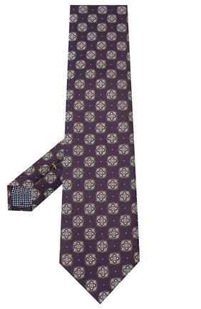 Мужской шелковый галстук ETON фиолетового цвета, арт. A000 32542 | Фото 2