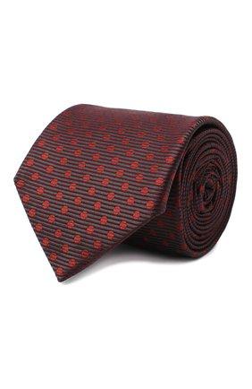 Мужской шелковый галстук ETON бордового цвета, арт. A000 32551 | Фото 1