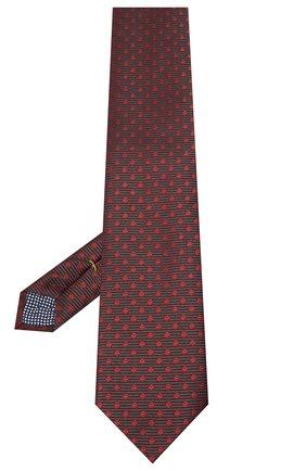 Мужской шелковый галстук ETON бордового цвета, арт. A000 32551 | Фото 2