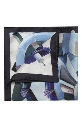 Мужской шелковый платок ETON фиолетового цвета, арт. A000 32571 | Фото 1