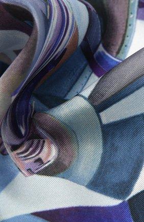 Мужской шелковый платок ETON фиолетового цвета, арт. A000 32571 | Фото 2