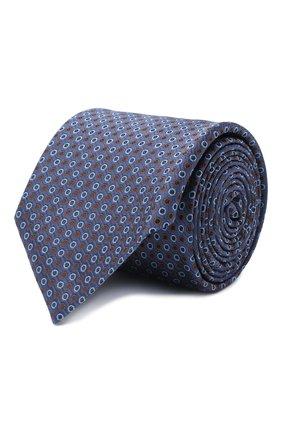 Мужской шелковый галстук ETON синего цвета, арт. A000 32592 | Фото 1