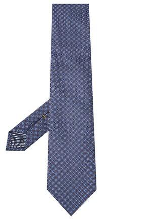 Мужской шелковый галстук ETON синего цвета, арт. A000 32592 | Фото 2