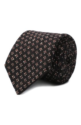 Мужской шелковый галстук ETON коричневого цвета, арт. A000 32598 | Фото 1