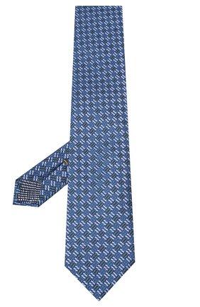 Мужской шелковый галстук ETON бирюзового цвета, арт. A000 32613 | Фото 2