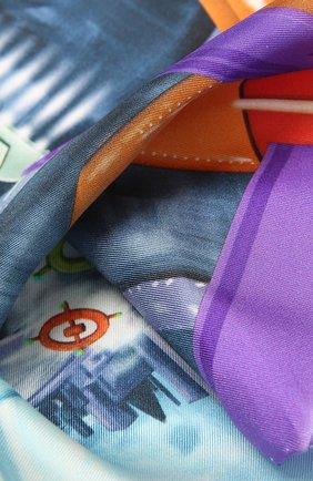 Мужской шелковый платок ETON синего цвета, арт. A000 32629 | Фото 2