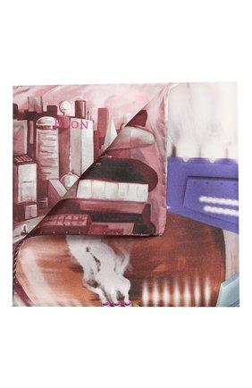 Мужской шелковый платок ETON бордового цвета, арт. A000 32629 | Фото 1