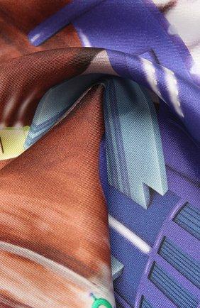 Мужской шелковый платок ETON бордового цвета, арт. A000 32629 | Фото 2