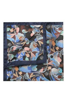 Мужской шелковый платок ETON синего цвета, арт. A000 32638 | Фото 1