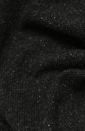 Мужской шарф из шерсти и шелка ETON черного цвета, арт. A000 32680 | Фото 2