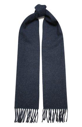 Мужской шарф из шерсти и шелка ETON синего цвета, арт. A000 32680 | Фото 1