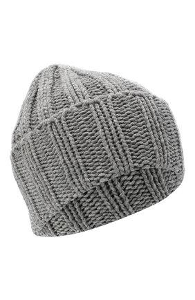 Мужская кашемировая шапка INVERNI серого цвета, арт. 2924CM | Фото 1