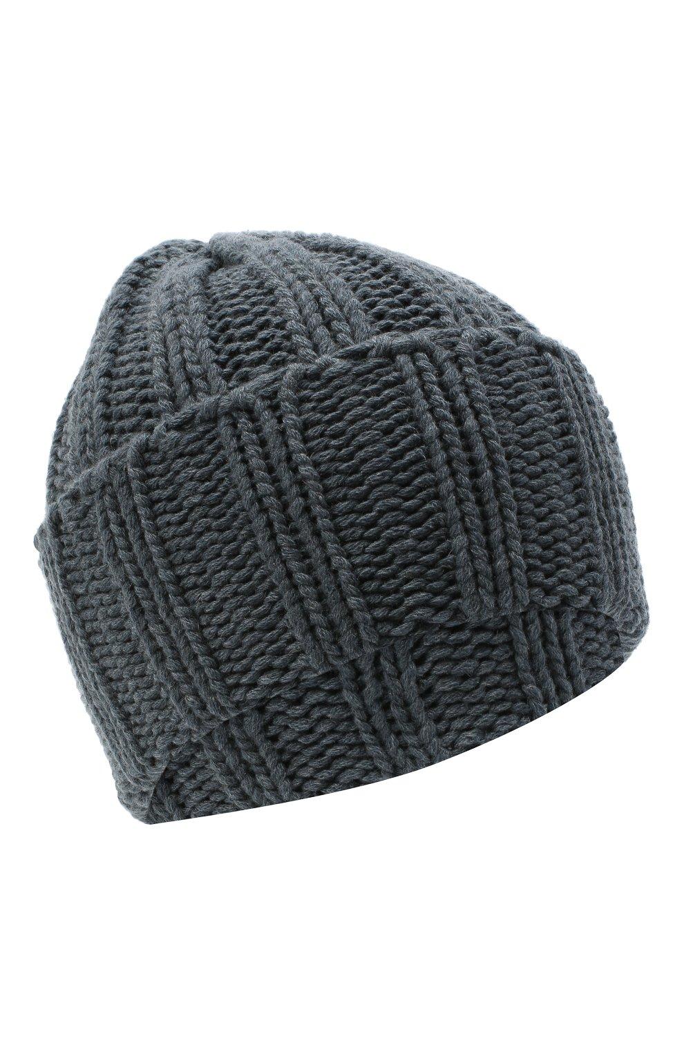 Мужская кашемировая шапка INVERNI синего цвета, арт. 2924CM | Фото 1