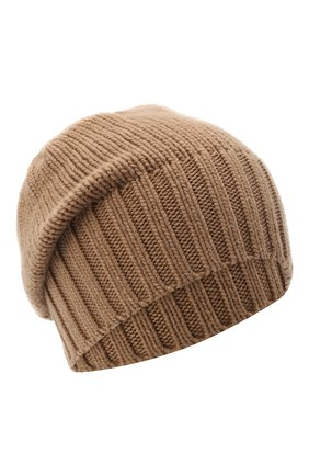 Мужская кашемировая шапка INVERNI коричневого цвета, арт. 4226CM | Фото 1