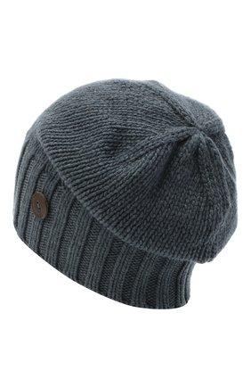Мужская кашемировая шапка INVERNI синего цвета, арт. 4226CM | Фото 2