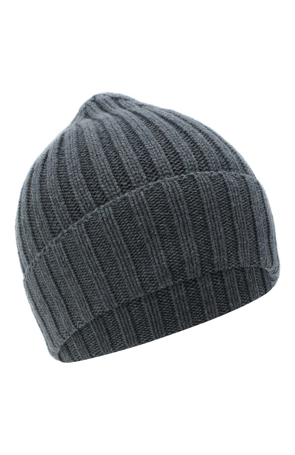 Мужская кашемировая шапка INVERNI синего цвета, арт. 4712CM | Фото 1