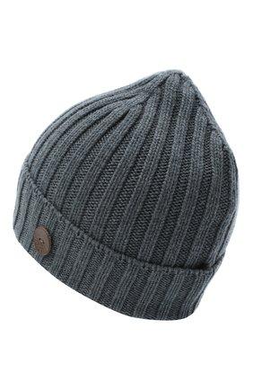 Мужская кашемировая шапка INVERNI синего цвета, арт. 4712CM | Фото 2