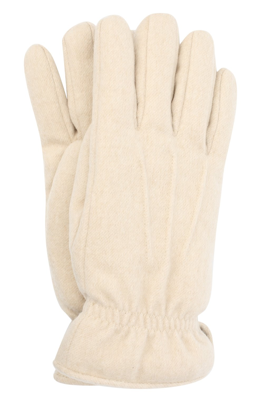 Мужские кашемировые перчатки LORO PIANA кремвого цвета, арт. FAL3287   Фото 1