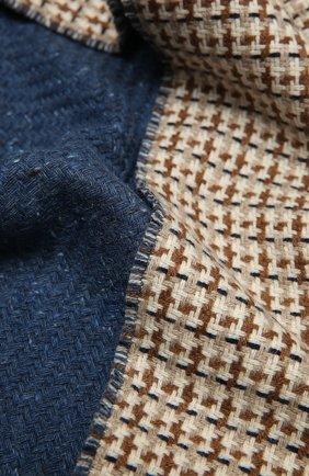 Мужской кашемировый шарф LORO PIANA бежевого цвета, арт. FAL3945 | Фото 2