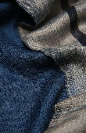 Мужской шарф из кашемира и шелка LORO PIANA синего цвета, арт. FAL4239 | Фото 2