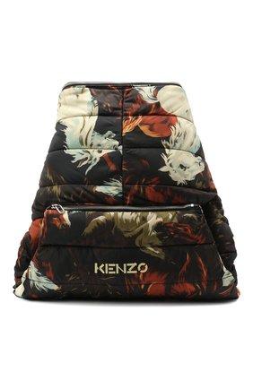 Мужской текстильный рюкзак kenzomania KENZO разноцветного цвета, арт. FA65SA003F23 | Фото 1
