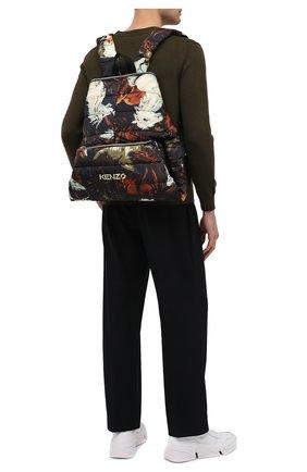 Мужской текстильный рюкзак kenzomania KENZO разноцветного цвета, арт. FA65SA003F23 | Фото 2