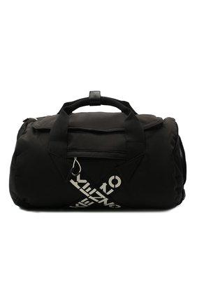 Мужская дорожная сумка kenzo sport KENZO черного цвета, арт. FA65SA210F21 | Фото 1