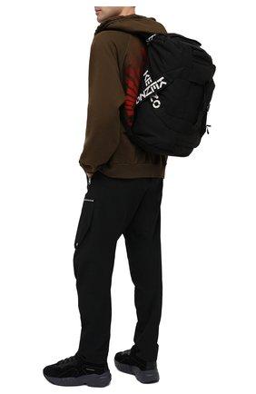 Мужская дорожная сумка kenzo sport KENZO черного цвета, арт. FA65SA210F21 | Фото 2