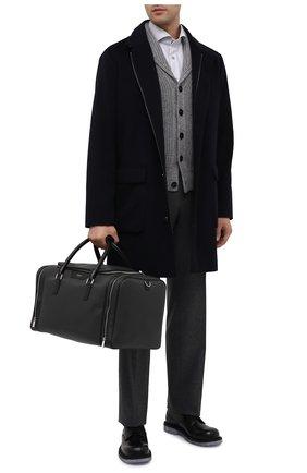 Мужская дорожная сумка stepan SERAPIAN темно-серого цвета, арт. SSTEPMTR7130M45A | Фото 2