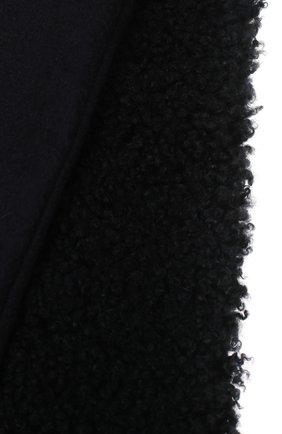 Мужской кашемировый шарф GIORGIO ARMANI темно-синего цвета, арт. 745101/0A136 | Фото 2