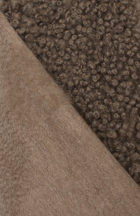 Мужской кашемировый шарф GIORGIO ARMANI бежевого цвета, арт. 745101/0A136 | Фото 2