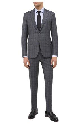 Мужской шерстяной костюм CANALI серого цвета, арт. 11280/19/BF01782 | Фото 1