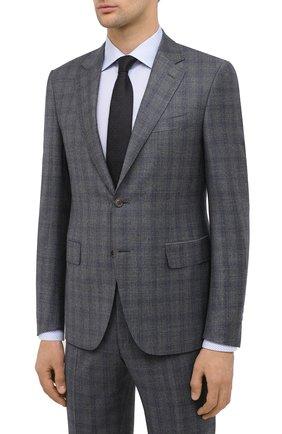 Мужской шерстяной костюм CANALI серого цвета, арт. 11280/19/BF01782 | Фото 2