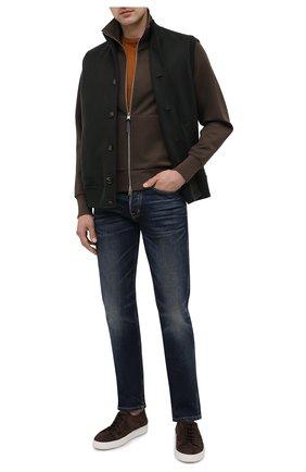 Мужские джинсы TOM FORD темно-синего цвета, арт. BVJ31/TFD002 | Фото 2