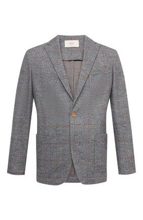 Мужской пиджак из хлопка и шерсти ALTEA серого цвета, арт. 2062319 | Фото 1