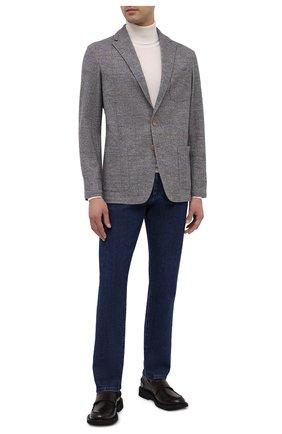 Мужской пиджак из хлопка и шерсти ALTEA серого цвета, арт. 2062319   Фото 2