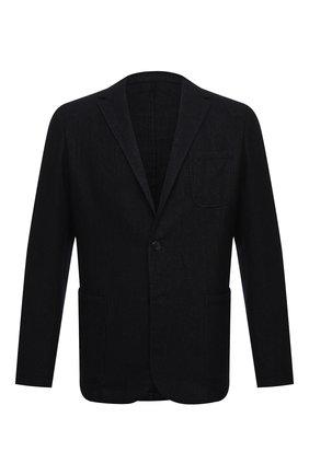 Мужской шерстяной пиджак ALTEA темно-синего цвета, арт. 2062059 | Фото 1