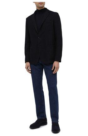 Мужской шерстяной пиджак ALTEA темно-синего цвета, арт. 2062059 | Фото 2